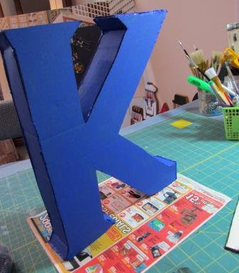 diy mosaic monogram