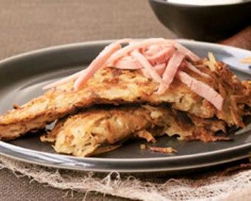 how to serve potato pancakes