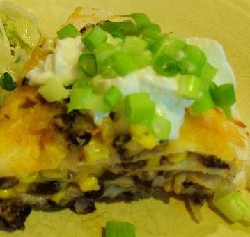 The Recipe File: Tortilla and Black Bean Pie