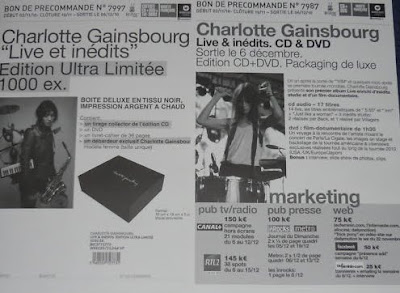 Charlotte Gainsbourg Live & Inédits