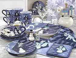 Mesas navide as decoractual dise o y decoraci n - Mesas navidenas decoracion ...
