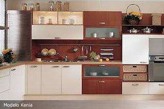 Cocina modelos cocinas modernas decoractual dise o y for Cocinas colores combinados