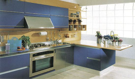 Decoracin de Cocinas MUEBLES DE COCINA DE MELAMINA Fotos