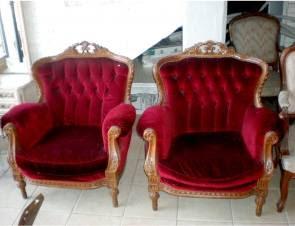 Sillones rojos combinar sof de color rojo sillones rojos - Sillones con estilo ...