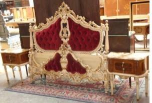 Camas estilos luis xv luisxvi rococo barroco frances for Decoracion de interiores luis xv