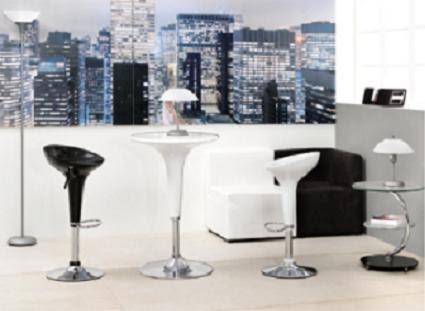 Proyecto mini sala de estar en blanco y negro for Sala de estar blanco y negro