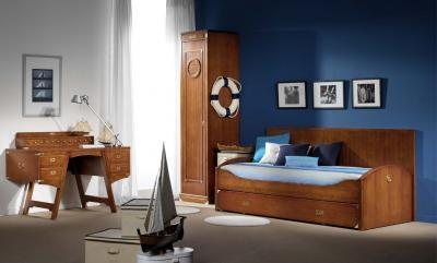 Dormitorios juveniles estilo marinero decoraci n n utica for Decoracion barcos interiores