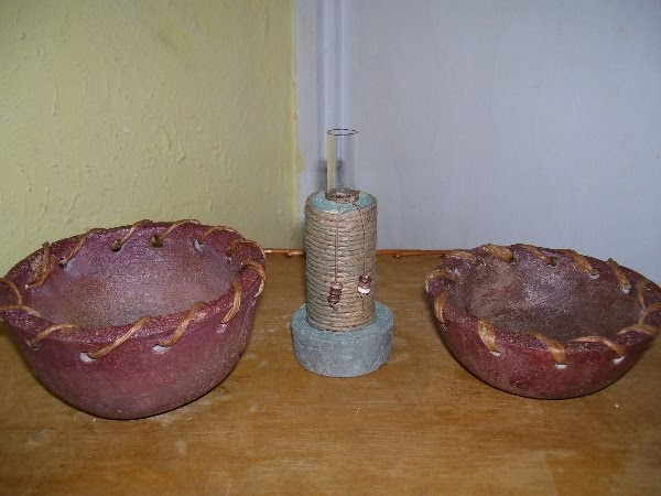 Pasta piedra mezcla t cnica paso a paso objetos de for Objetos decoracion hogar