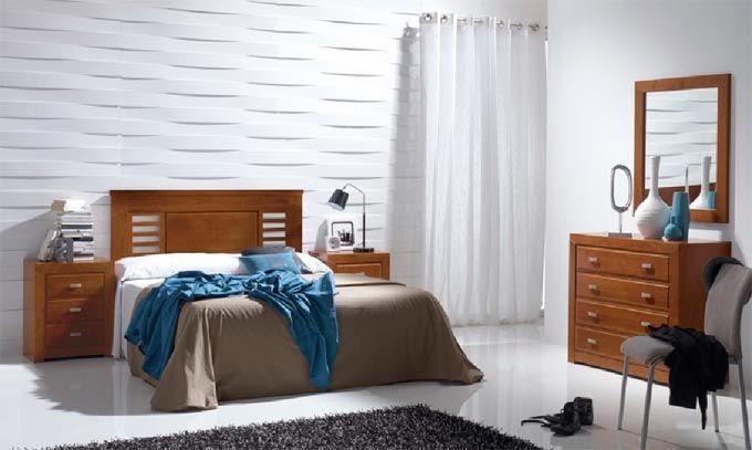 Dormitorios matrimoniales en 100 madera maciza avellana for Deco de habitaciones matrimoniales