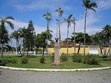 Praça Benedicto Calixto em Itanhaém