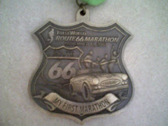 Running the Tulsa Route 66 Marathon