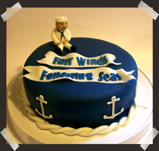 Navy Retirement Cake Ideas And Designs