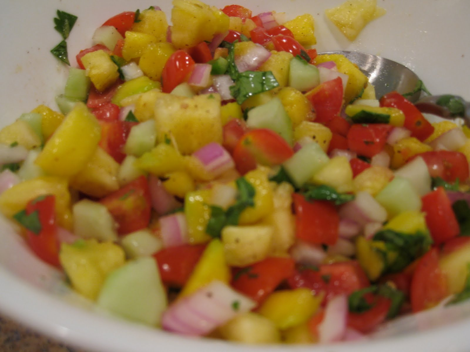 ... al pastor pineapple salsa grilled swordfish with pineapple peach salsa