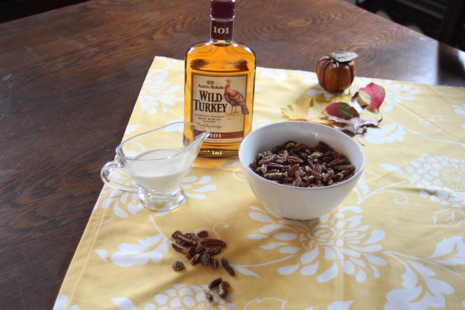 ... Inspiration - Bourbon Pecan Squares with Bourbon Maple Cream Sauce