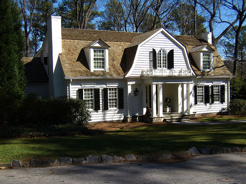 Dutch Colonial Revival Bungalow - Architecture and House Styles