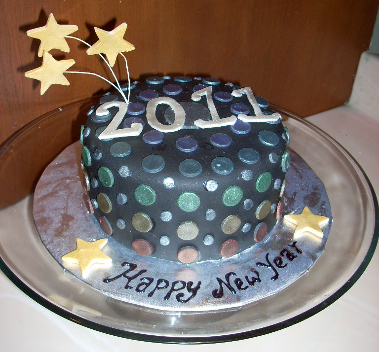 Cake Images New Year : ZacO Cakes: 2011 New Years Cake