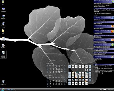 Active Desktop Calendar - симпатичный интерактивный календарь