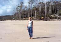 Praia em Marajó