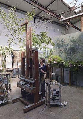 An artist's home…