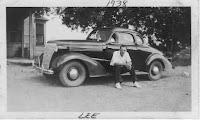 Dad and his car : 1938