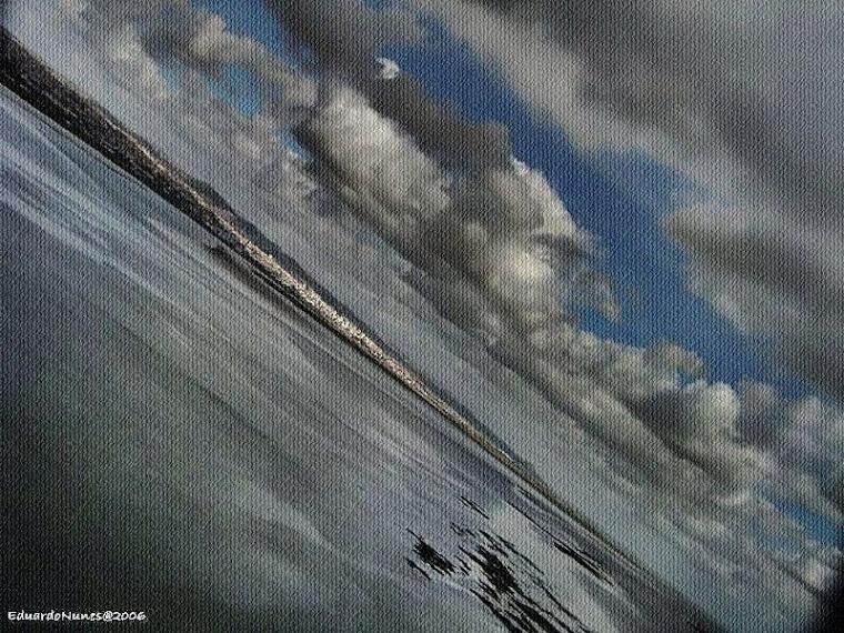 Voar ! [com pés acentes em terra]