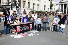 وقفة تضامنية مع أسر مذبحة سجن بوسليم  لندن  18ـ9ـ2010