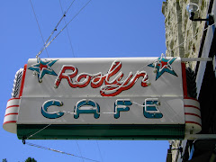 Roslyn Cafe in Neon.