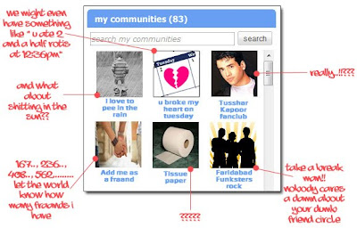 Orkut communities