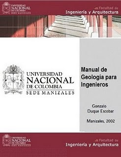 Manual de Geologia Para Ingenieros - Gonzalo Duque Escobar
