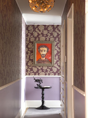 wallpaper ideas for hallways. bright ideas