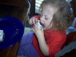 Bailey on her Fourth Birthday