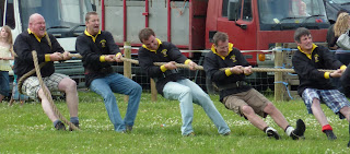 Tug of war - Chorley's Top Lock Tuggers take the strain