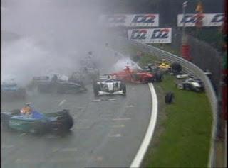 GP da Bélgica de Formula 1, Spa-Francorchamps em 1998 - speednthrash.blogspot.com