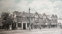An old early 1900's picture of the building in downtown Gnadenhutten that we are located in.