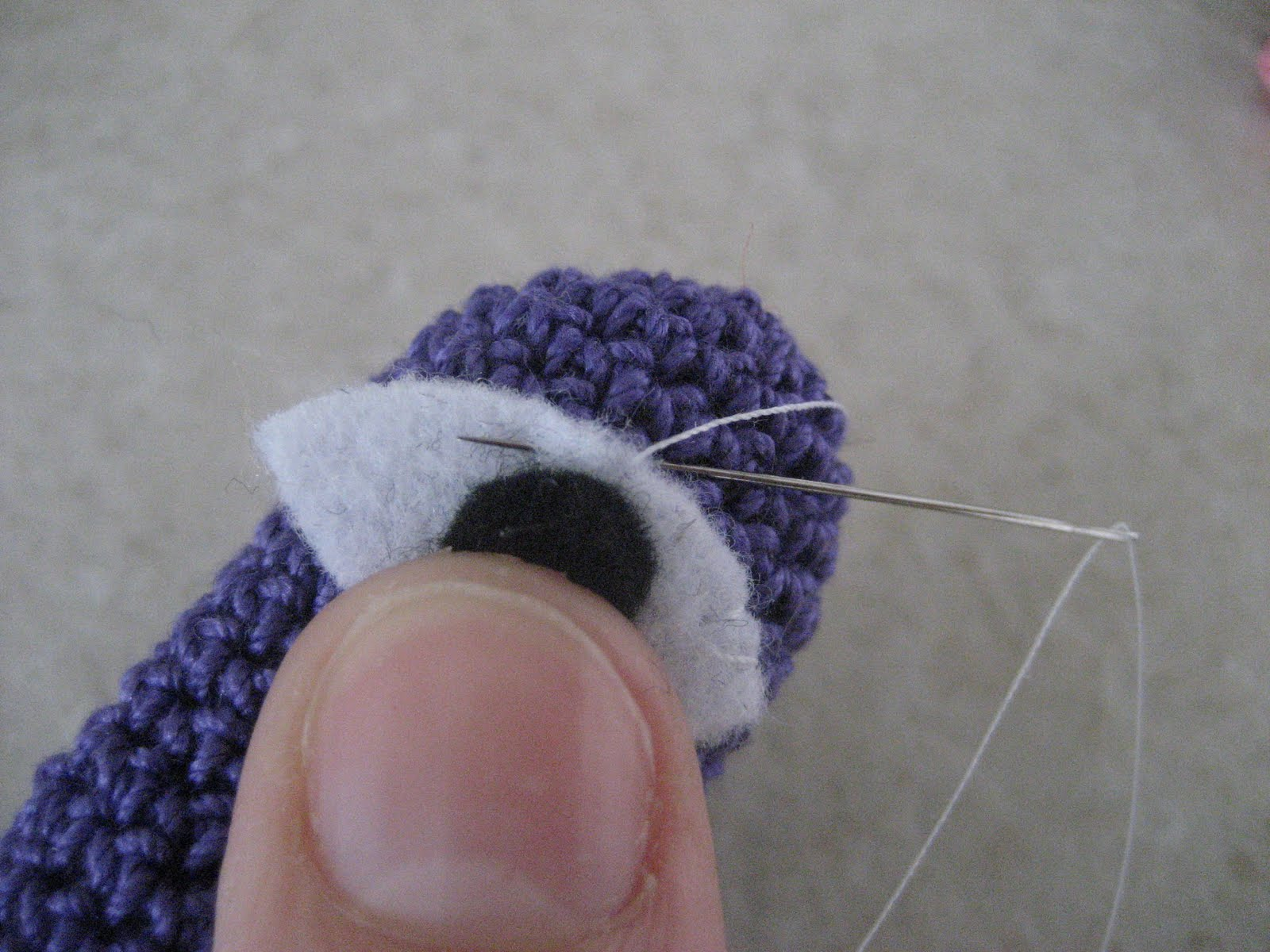 Just Be Happy Crochet Finger Puppets Tutorial
