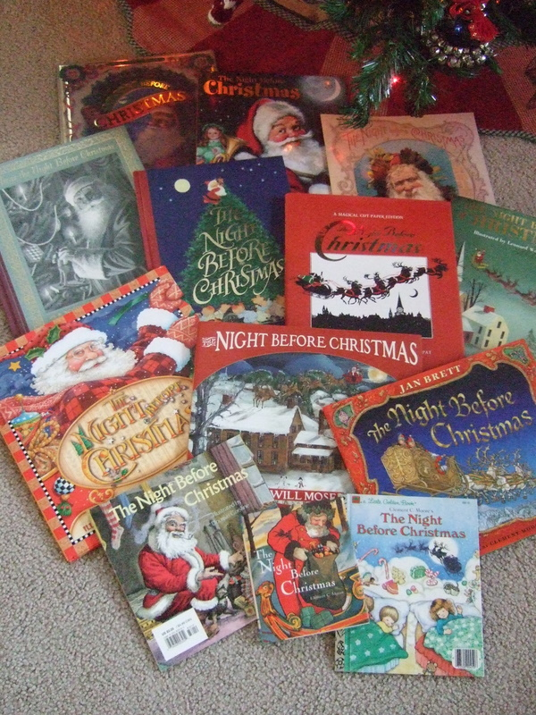 i have 13 different copies of this wonderful book i think it is amazing the beautiful art work and portrayal of santa by each illustrator - Night Before Christmas Book