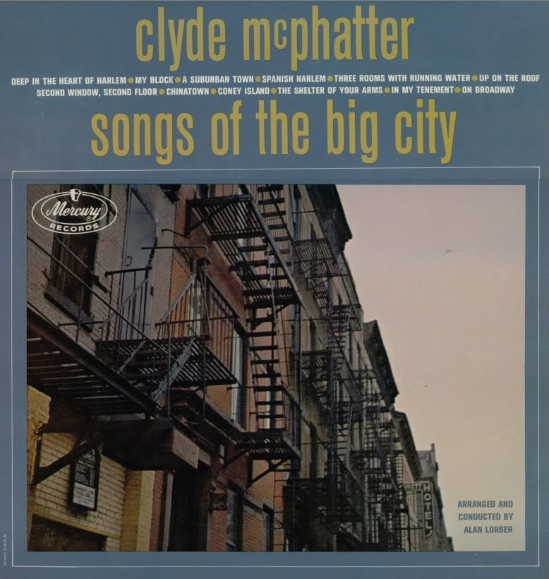 Clyde McPhatter - Deep In The Heart Of Harlem / Happy Good Times