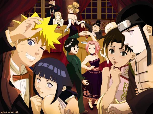 Ligados em Naruto