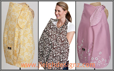 Craftaholics Anonymous® | Nursing Cover Pattern with Pocket