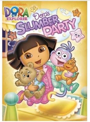 Dora the Explorer: Dora's Slumber Party on DVD - MomSpotted