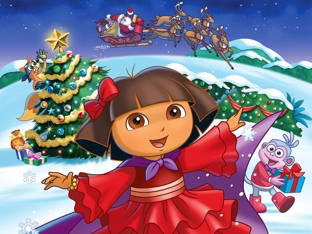Dora the Explorer: Dora's Christmas Carol Adventure DVD & CD ...