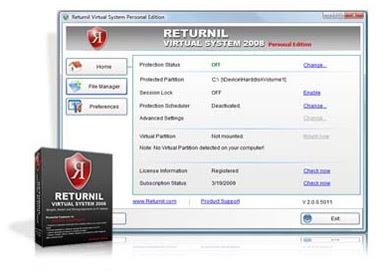 Returnil Virtual System Premium download baixar torrent