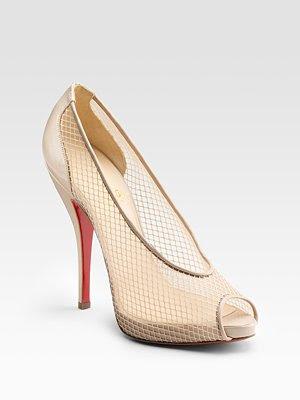 Christian_Louboutin_fishnet_nude_heels@http://marielscastle.blogspot.com