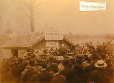 only known image of Ingersoll speaking