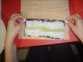 Sushi Pilav Tarifi /Hazırlanışı Kappamaki3
