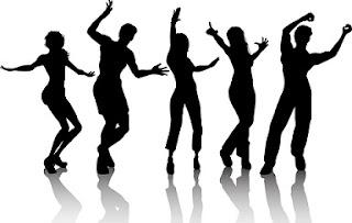 bailar cantar reir alegria amigos