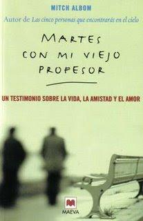 libro martes viejo profesor