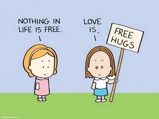 Free hugs price gratis