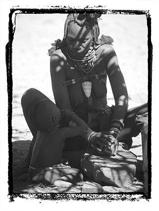 Mujer Himba (Namibia)