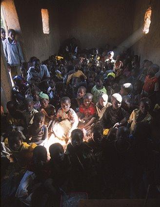 l'ecole Pais dogon (Malí)